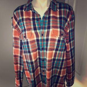 American Eagle Heavy Flannel Shirt